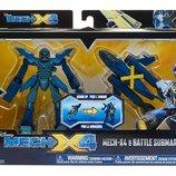 Mech-X4 5 Robot & Battle Submarine Dual Pack