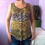 Блузка из очень тонкого хлопка 38 размера блузка летняя