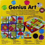 Мозаика для самых маленьких Пуговицы Genius Art 3D Пазл аналог мозаики Тм Alex, Quercetti
