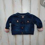 Baker стильная джинсовая куртка на девочку 3 мес