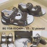 Босоножки кожаные для мальчика 18 см , кожаные сандали для мальчика B&G