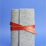 Софт-Бук ферт натуральная кожа Бесплатная доставка 1.0 Фетр коньяк