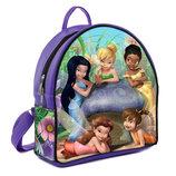 Фиолетовый рюкзак для девочки с принтом Феи Диснея и Динь Динь