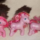 шикарные коллекционно-игровые фигурки Пони My Little Pony Hasbro Сша оригинал клеймо