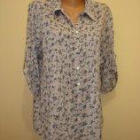 Свободная цветная блуза-туника SELECT 14 р Индия