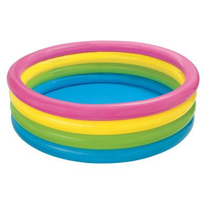 Детский надувной бассейн Радуга Интекс 168х46см, от 3 лет Intex 56441
