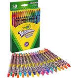Crayola Цветные выкручивающиеся карандаши 30 цветов вертушки twistables colored pencils
