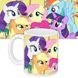 Детская чашка с принтом My Little Pony