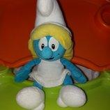 Мягкая игрушка Смурфета Смурфочка из мультфильма Диснейdisney.