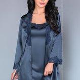 Комплект халат, сорочка, стринги Jacqueline Blue от Livia Corsetti Супер цена