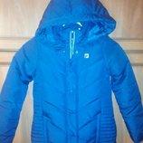 Зимняя курточка р.128 новая.