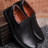 Мужские туфли без шнуровки в наличии новые 40-45 р