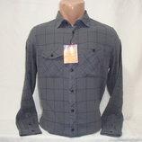 Мужская рубашка с длинным рукавом в клетку Piazza Italia.