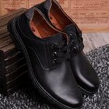 Мужские туфли на шнуровке в наличии новые 40-45 р