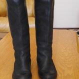 Чоботи шкіряні розмір 37 стелька 24,2 см Ca Chott