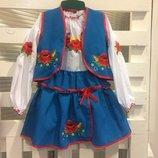 Костюм в украинском стиле от 2 до 10 лет