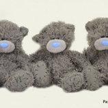 Мишка Тедди 13см, без одежды