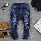 крутые джинсики рванки р. 98-152