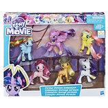 My Little Pony the Movie Pirate Ponies Май литл пони набор 6 штук пони пираты