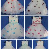 Платья нарядные выпускные праздничные 6-8 лет - 122-140 см,DN754-1, 11