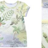 футболка для девочки 74-128р новая,стильная 100% хлопок
