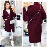 Женское стильное женское пальто кашемир, букле
