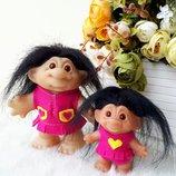 Кукла тролль троллики Dam оригинал пара