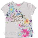 Белая футболка для девочки LC Waikiki / Лс Вайкики с надписью Summer Dream