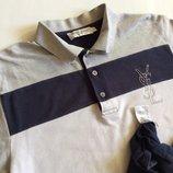 Мужская футболка YVES SAINT LAURENT YSL оригинал размер М