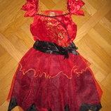 Карнавальное платье Колдунья, Ведьмочка, Цветочек на 7-8лет, 128см F F