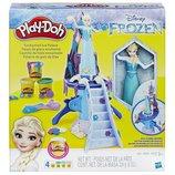 Play-Doh frozen Enchanted Ice Palace Плей до ледяной замок Эльза