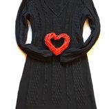 Вязаное платье, размер S-M