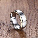 Необычное двухцветное кольцо