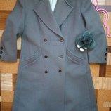 Пальто элегантное,в стиле Шанель Весна
