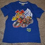 новая футболка мальчику Angry birds Matalan на 7-8 лет рост 128