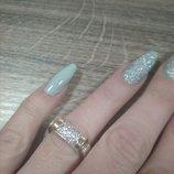Кольцо серебряное 16,5