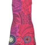 40 разм. Дизайнерское платье Desigual. Made in Morocco. Оригинал Длина по спинке - 81 см., пог - 47