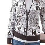 Стильный блузон, кофта из качественного трикотажа. Есть большие размеры до 2XL.