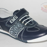 Кожаные кросcовки B&G Бг Биджи. размеры 33-37