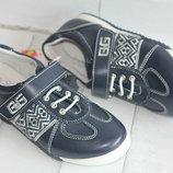 кросcовки кожаные B&G Бг Биджи. размеры 33-37