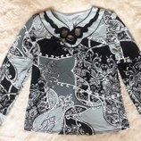 Нарядная женская блузка PER MIO, новая с этикетками