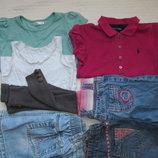 пакет одежды на девочку 3-4 года 98-104 рост 7 вещей
