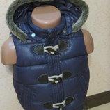 теплая жилетка zara baby 2-3года
