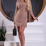 Оригинальное платье с красивыми рукавами 938