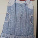 красивое качественное платье для белокурых девочек 98 см.