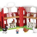 Fisher-Price Большая музыкальная ферма Little People Animal Friends Farm Toy