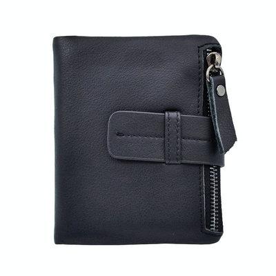 Небольшой мужской кожаный кошелек. Портмоне для мужчин.Натуральная кожа.ЕК43