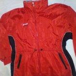 Куртка ветровка унисекс dragon sport 16-18 xl-xxl размер с капюшоном