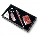 Подарочный набор Ручка с брелоком и зажигалкой