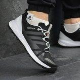 Кроссовки мужские Adidas Terrex Boost black/white